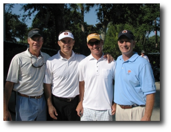 Foursome Team at last year's tournament